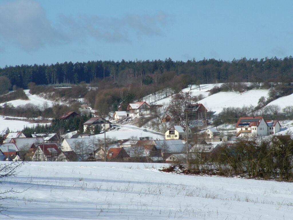 Langenberg im Winter