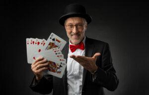 Zauberer Mäd Schick